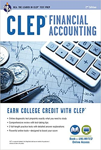 CLEP® Financial Accounting Book + Online (CLEP Test
