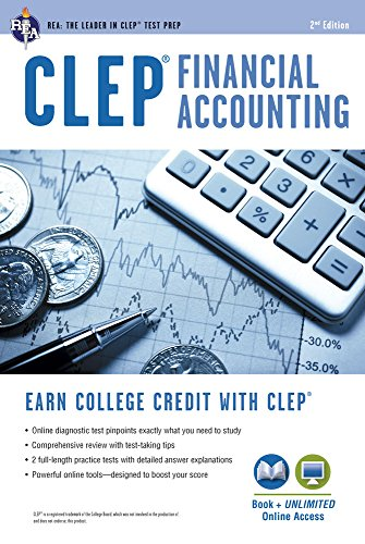 CLEP® Financial Accounting Book + Online (CLEP Test Preparation)