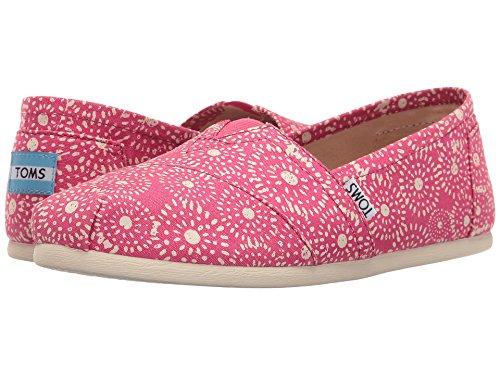 Toms Men's Aiden Casual Shoe (9.5 B(M) US, Fuchsia/Shibori/Dots) (Dots Shibori)