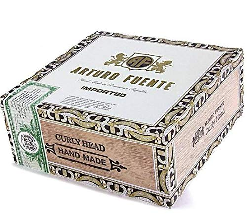(Arturo Fuente Imported Curly Head Deluxe Wooden Empty Cigar)