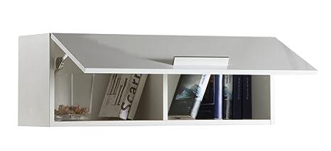 Composad Pensile soggiorno apertura verticale colore laccato bianco ...