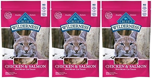Blue Buffalo Wilderness Grain Free Cat Treats Chicken & Salm
