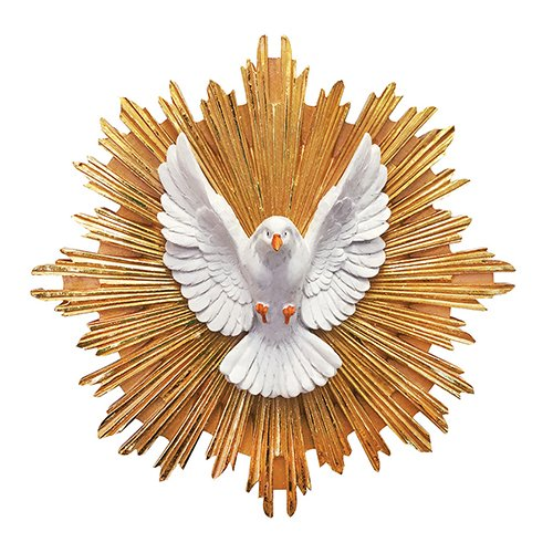 Divine Spirit Pendant Holy Spirit Sculpture Wall Mounted Divine Eagle(8 Inch)