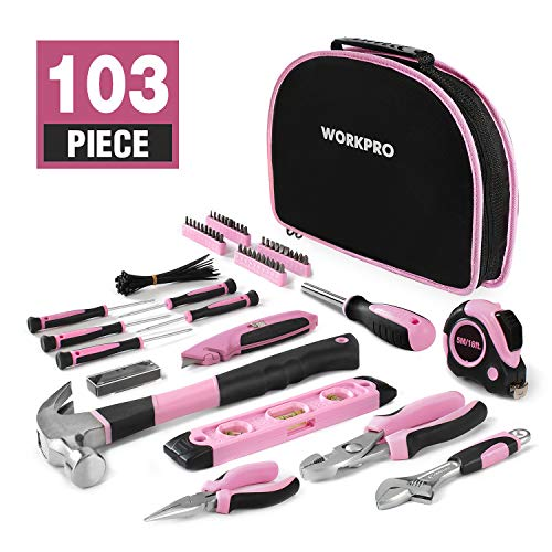 Workpro 103Piece Pink Tool