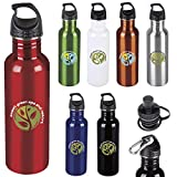 BIC Graphic Kona Bottle - 26 oz. Red 72 Pack