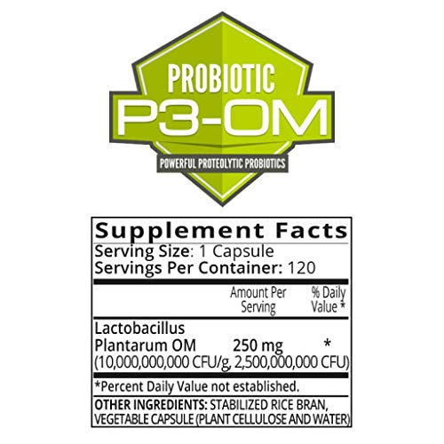 P3-OM - Best Probiotics for Women and Men - Dr. Formulated - No Refrigeration Needed - Patented Single Strain - Boosts Immunity - Supports Digestive Health (120) by BiOptimizers (Image #6)
