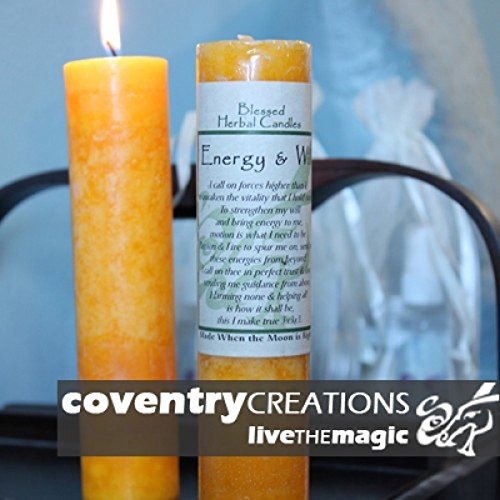 Blessed Herbal - Energy and Will Candle