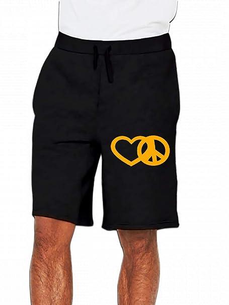 JiJingHeWang Super Hero Mens Casual Shorts Pants