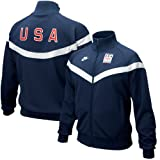 Nike 2010 Winter Olympics Team USA Navy Blue Full Zip Track Jacket