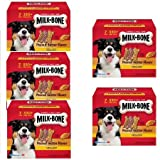 Milk-Bone Peanut Butter Flavor Dog Treats Variety Pack, Small/Medium/7 lb by Milk-Bone (5 Box)