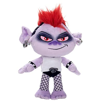 "Trolls 37445 25cm (10"") 2 CORE Queen Barb Soft Toy, Multi: Toys & Games"