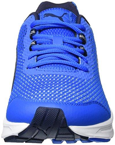 Puma Descendant V4 - Zapatillas de running Unisex adulto Azul (Electric Blue-Peacoat-White 03 )