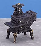 1 12 scale stove - Dollhouse Miniature 1:12 Scale Black Wood Stove #T5931