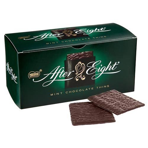 Mints Eight (Original After Eight Gourmet Mint Chocolate Imported From The UK England The Best Of British Mint Chocolate After Eight)