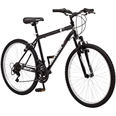 The Granite Peak 26-inch Men's Mountain Bike by Roadmaster is an excellent all-around mountain bike that is right at home on a rugged unpaved path or cruising the streets in your neighborhood. It sports a steel mountain frame and a front susp...