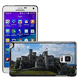 Hot Style Cell Phone PC Hard Case Cover // M00171663 Castle Building Jura // Samsung Galaxy Note 4 IV