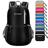ZOMAKE Ultra Lightweight Travel Backpack – Durable Packable Water Resistant Backpack Small Daypack for Women Men