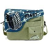 YOYOSHome Anime Attack on Titan Cosplay Handbag Crossbody Bag Messenger Bag Shoulder Bag (2)