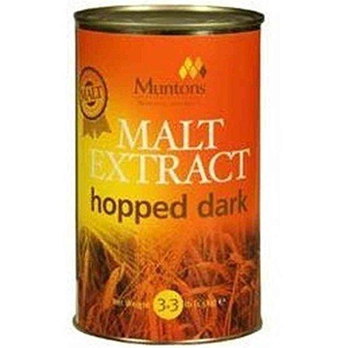 Muntons Malt Extract hopped dark 1.5kg (3.3 lbs)