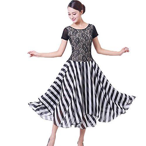 [해외]연습 벌 사교 댄스 드레스 원피스 큰 락 모던 라틴 댄스 의상, 댄스 의상 원피스 탱고 의상 드레스 볼룸 댄스 라틴 드레스 / Practice clothes Ballroom Dance dresses One piece large hem modern Latin dance Costumes dance Costumes One Piece t...