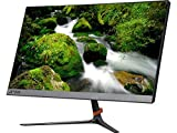 2017 Lenovo 21.5 Inch IPS LED Full HD Widescreen Monitor with 1920 x 1080 resolution at 75Hz, 16:9, 7ms, 250 cd/m², 178° /178°, HDMI and VGA inputs, Black