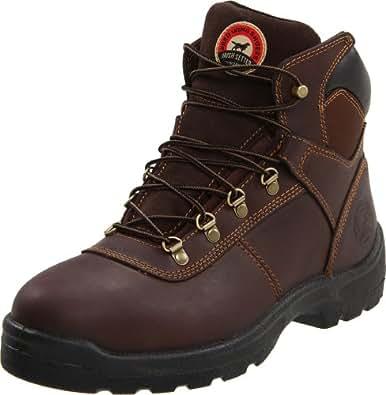 "Irish Setter Men's 6"" 83607 Work Boot,Brown,7 D US"