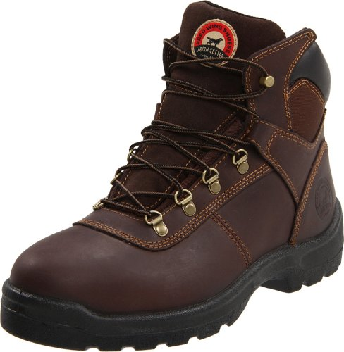 "Irish Setter Men's Ely 6"" 83607 Work Boot,Brown,10.5 EE US"