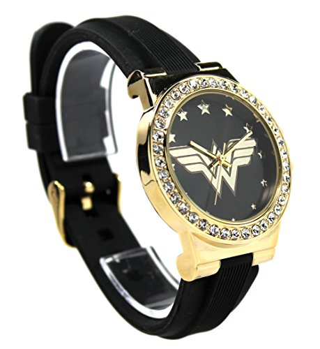 Wonder Woman Strap Watch (WOW 9011) -