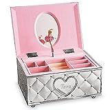 Lenox Engraved Childhood Memories Ballerina Jewelry Box (Personalized)