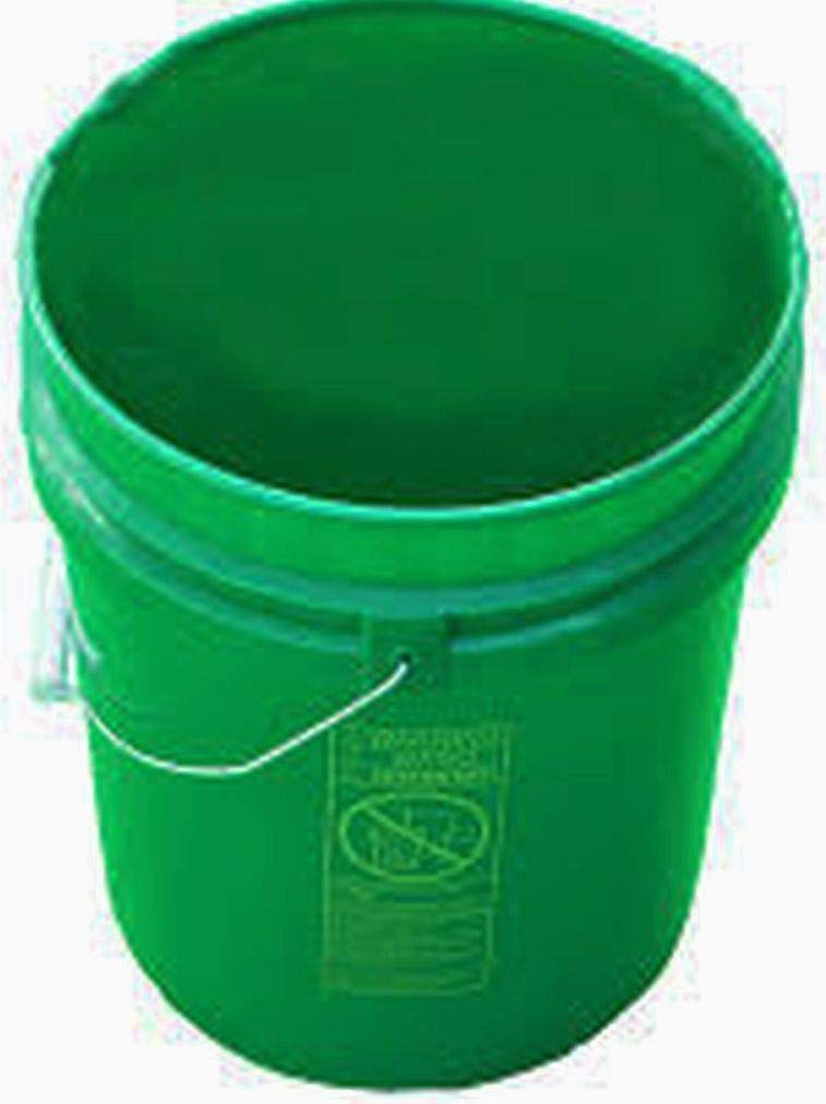 Robust GREEN ELEPHANTS /® Multi-use Fermentation Bucket 25 Litre Plastic Bucket with LID and Metal Handle