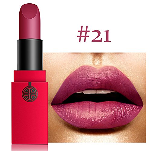 Natural Waterproof Long Lasting Moisturizing Velvet Matte Lipstick, 12 Colors By MEIKING
