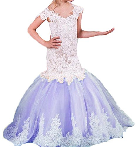 mermaid flower girl dresses - 8