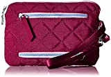 Baggallini Women's Rfid Currency and Passport Organizer, Fuchsia/Pink, One Size