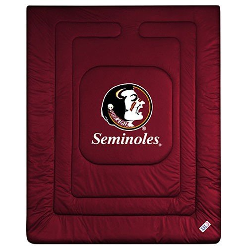 State Bed Florida (NCAA Florida State Seminoles Locker Room Comforter Queen)