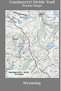 Continental Divide Trail Pocket Maps Colorado K Scott Parks - Cdt trail map