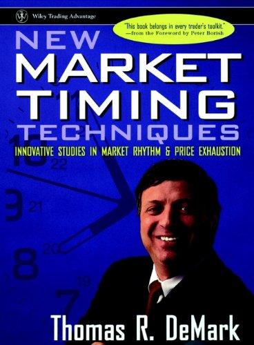 New Market Timing Techniques: Innovative Studies in Market Rhythm & Price Exhaustion (Inglese) Copertina rigida – 23 lug 1997 Thomas R. Demark John Wiley & Sons Inc 0471149780 Business & Economics