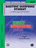 Student Instrumental Course Baritone Saxophone Student, Willis Coggins and Fred Weber, 0757980902