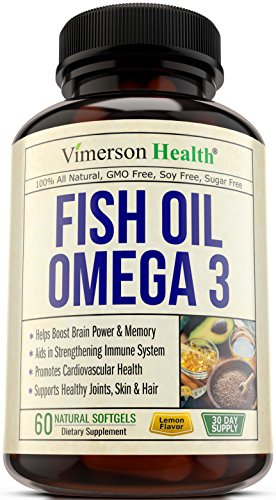 Fish Oil Omega Supplement Cardiovascular