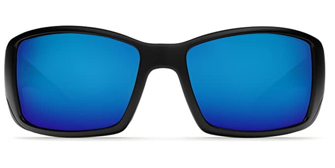 9f0ccb8c99e Image Unavailable. Image not available for. Colour  Costa Del Mar  Sunglasses BLACKFIN Matte Black Polarized Blue Mirror 580 Glass