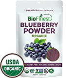 organ juice - Biofinest Wild Blueberry Juice Powder - 100% Pure Freeze-Dried Extract Superfood - USDA Organic Vegan Raw Non-GMO - Boost Digestion Weight Loss - for Smoothie Beverage Blend (4 oz Resealable Bag)