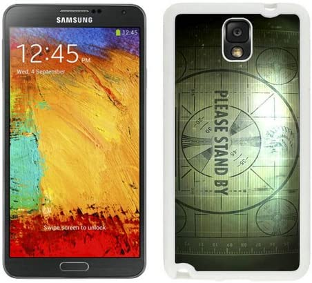 Amazon Com Samsung Galaxy Note 3 Fallout 3 1080p Wallpaper Hd White Screen Cellphone Case Attractive And Personalized Design