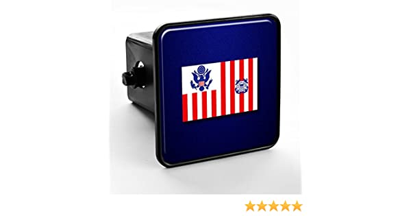 ExpressItBest Trailer Hitch Cover USCG US Coast Guard Ensign