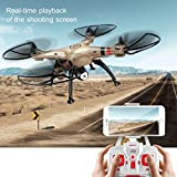 MD Group RC Quadcopter 6-Axis Gyro 2.4G 4CH WIFI FPV System Syma X8HW with Remote Control