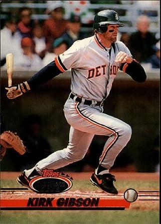 Amazoncom 1993 Topps Stadium Club Baseball Card 673 Kirk