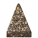 Hosley 5″ High Large Soapstone Triangle Pyramid, Incense Cone Holder. Ideal Gift for Aromatherapy, Zen, Spa, Vastu, Reiki Chakra Settings. O6
