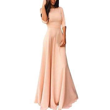 Vestido de mujer, janly® Noche Formal Fiesta Prom Vestido largo de novia (para