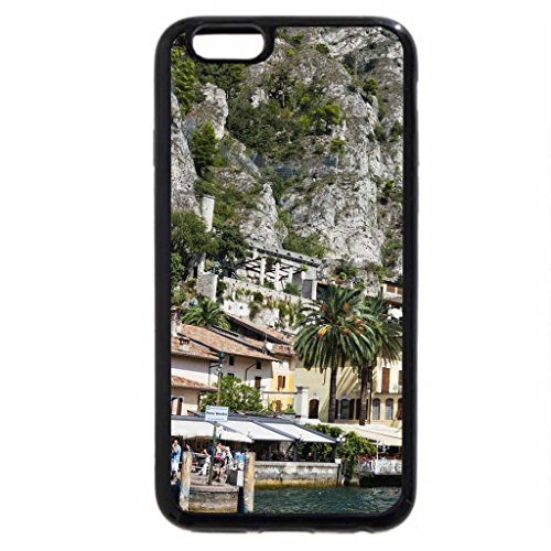 iPhone 6S / iPhone 6 Case (Black) beautiful lake front town