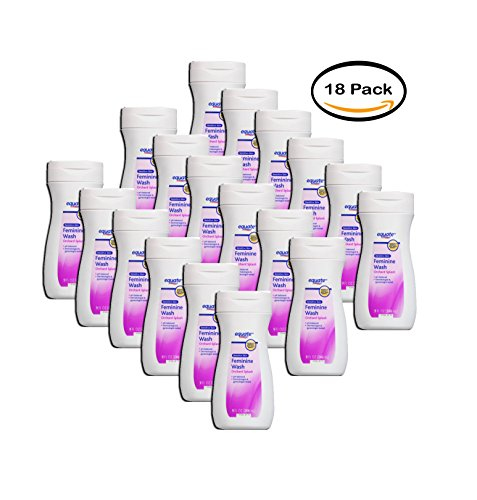 PACK OF 18 - Equate Tropical Infusion Sensitive Skin Feminine Wash, 9 Fl Oz by Equate