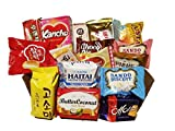 choco pie green tea - KOREAN SNACK BOX_Assorted Package_Popular Authentic Korean Brand Snacks_Perfect for GIFT_18 Packs