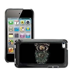 Super Stellar Slim PC Hard Case Cover Skin Armor Shell Protection // M00050167 black aero glasglow // Apple iPod Touch 4 4G 4th